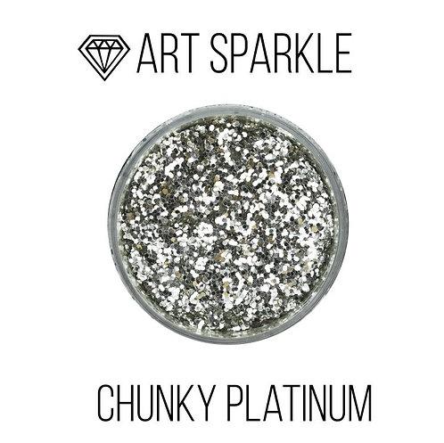 Глиттер крупный  Chunky Platinum, 50гр