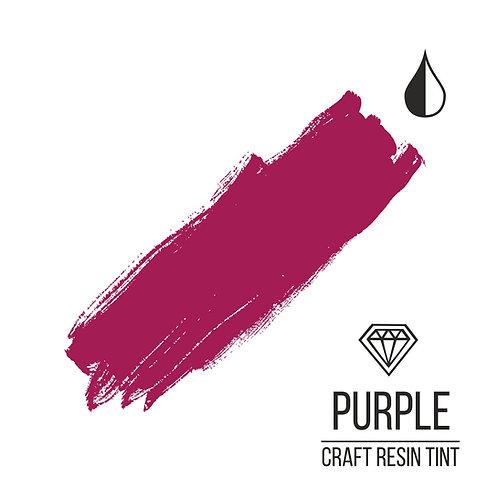 Краситель для смолы и полимеров CraftResinTint, Пурпурный 10мл