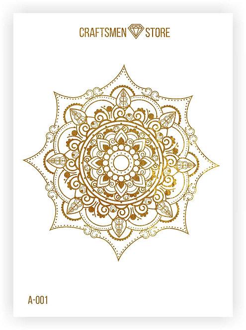 Наклейка серия Mandala A-001