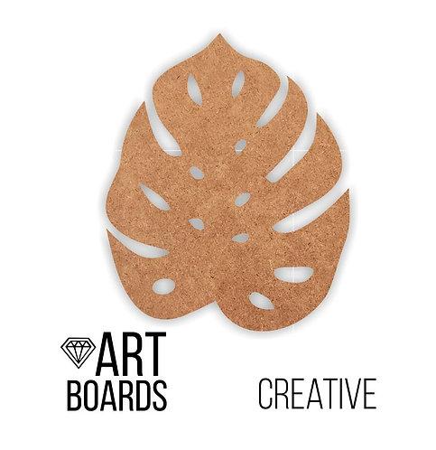 "Заготовка ART Board Creative ""Monstera L"", 40х30см"