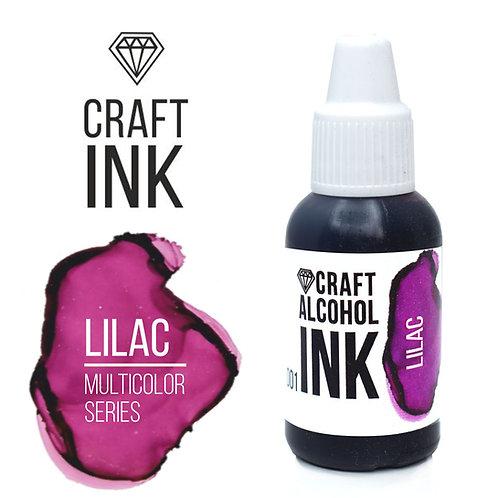 Спиртовые чернила  Craft  INK, Lilac (Лиловый), 20мл