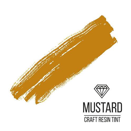 Краситель для смолы и полимеров CraftResinTint, Горчичный 10мл