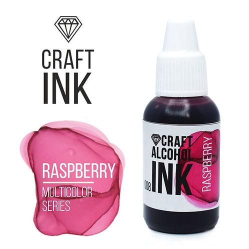 Спиротовые чернила  Craft  INK, Raspberry, 20мл