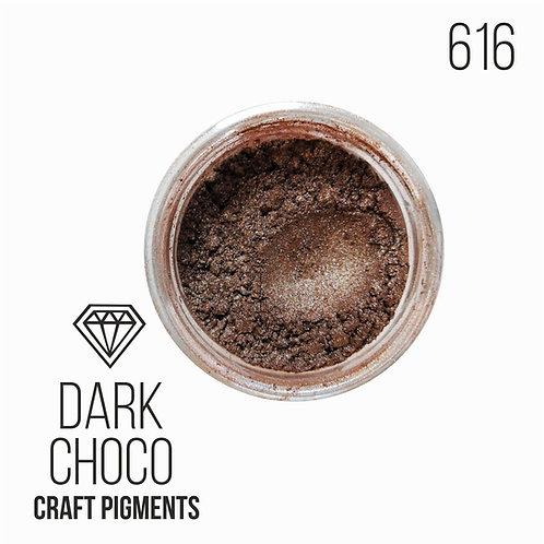"CraftPigments ""Dark Choco"", темный шоколад"
