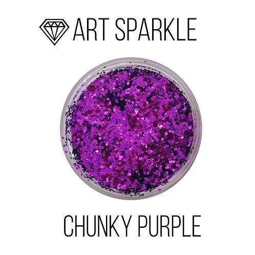 Глиттер крупный  Chunky Purple, 50гр