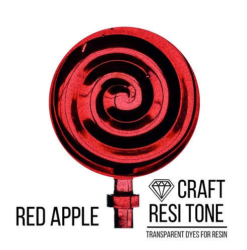 Прозрачный тонер для эпоксидной смолы, Красное яблоко, 10мл