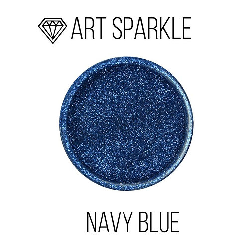 Small glitter Navy Blue, 50g