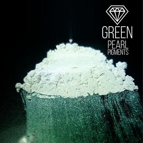 "CraftPigments Pearl ""Green"", зеленый 25мл"