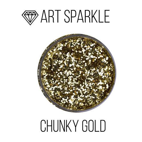 Глиттер крупный Chunky Gold, 50гр