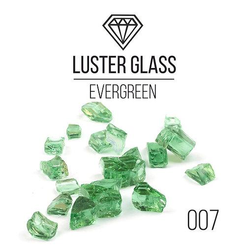 Стеклянная крошка LusterGlass Premium, EverGreen, 500гр