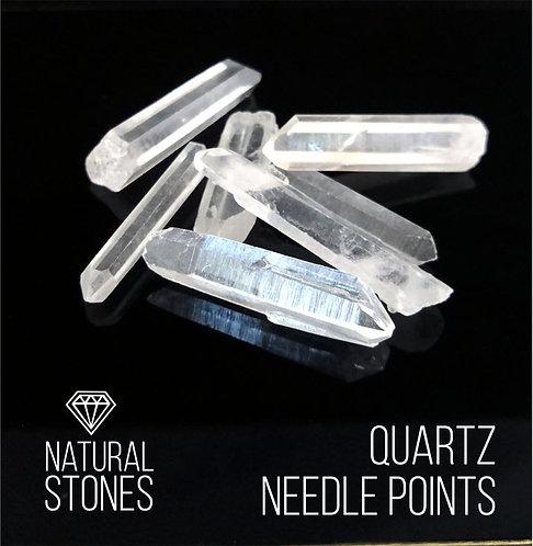 Натуральный кристалл горного хрусталяQuartz Needle points, 100гр