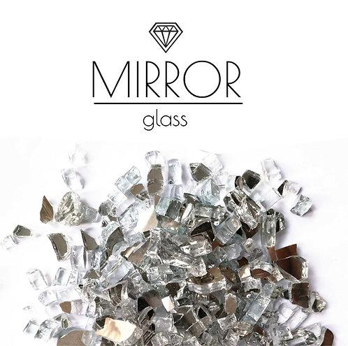 Двухсторонняя Зеркальная крошка Double Mirror фракция 2-4мм 500гр
