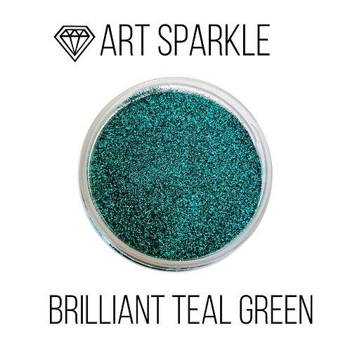 Глиттер мелкий Brilliant Teal Green, 50гр