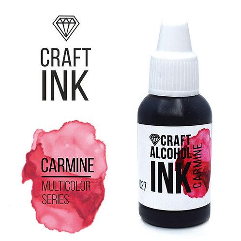 Спиртовые чернила  Craft  INK, Carmine (Кармин), 20мл