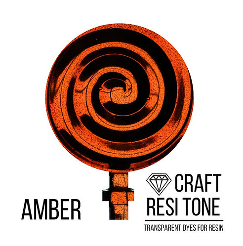 Прозрачный тонер для эпоксидной смолы, Amber (янтарный) 10мл