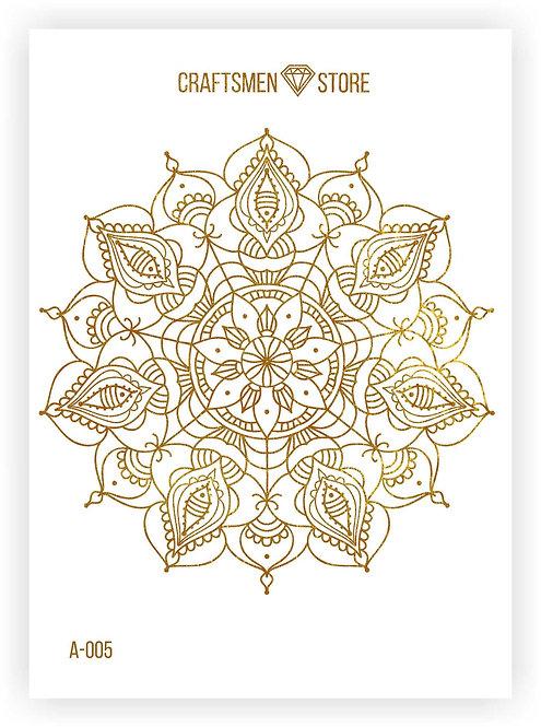 Наклейка серия Mandala A-005