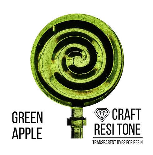 Прозрачный тонер для эпоксидной смолы, Яблочно зеленый, 10мл