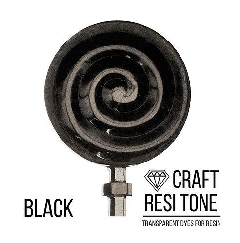 Прозрачный тонер для эпоксидной смолы Black, Чёрный, 10мл