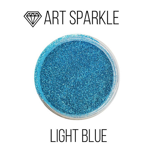 Глиттер мелкий Light Blue, 50гр