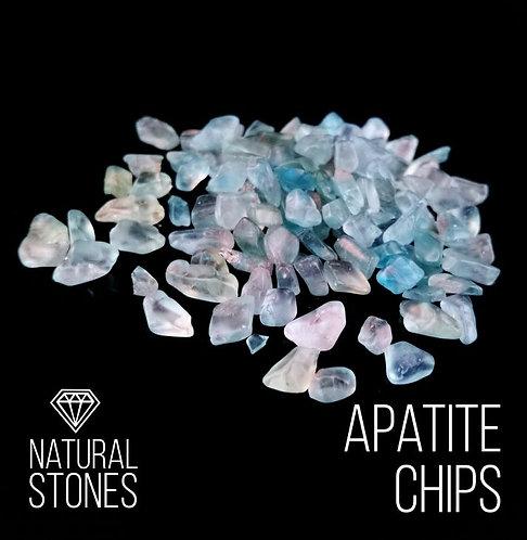 Натуральный апатит Apatite, 2-4 мм, 100гр
