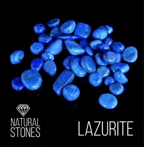 Натуральный лазурит Lazurite, 4-8 мм, 100гр