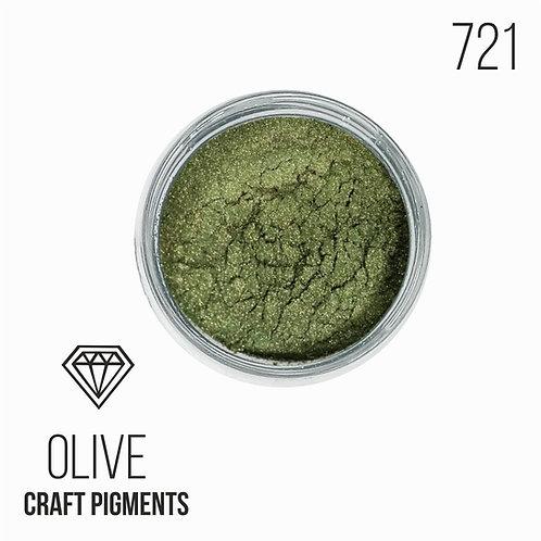"CraftPigments ""Olive"", Оливковый 25мл"