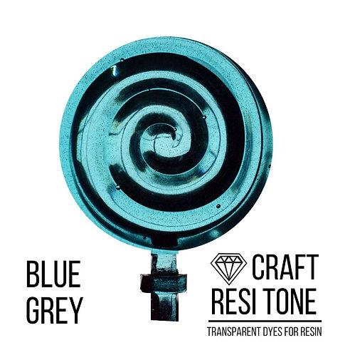 Прозрачный тонер для эпоксидной смолы, Серо голубой, 10мл