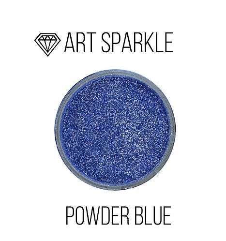 Глиттер мелкий Powder Blue, 50гр