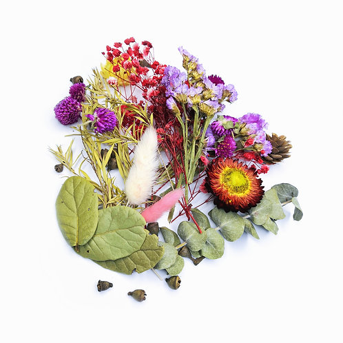 Набор сухоцветов для заливки в смолу