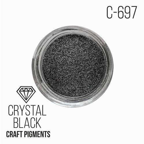 "CraftPigments ""Crystal Black"", Кристаллический чёрный 25мл"
