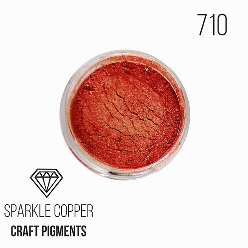 "CraftPigments ""Sparkle copper "", искрящаяся медь, 25мл"