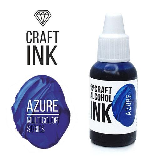 Спиртовые чернила  Craft  INK, Azure (Лазурный), 20мл