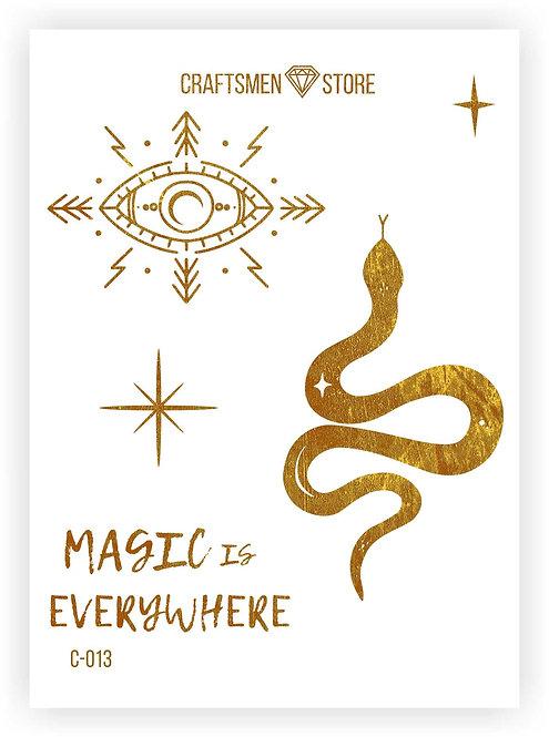 Наклейка серия Magic is Everywhere C-013