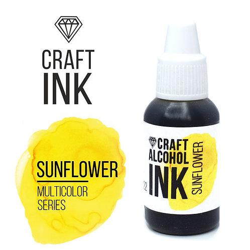 Спиртовые чернила  Craft  INK, Sunflower (Подсолнух), 20мл