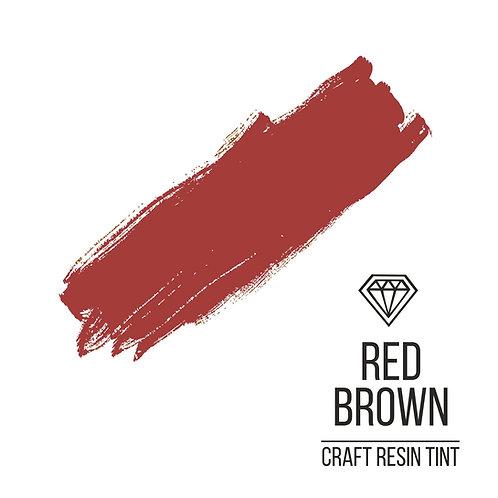 Краситель для смолы и полимеров CraftResinTint, Красно-коричневый 10мл