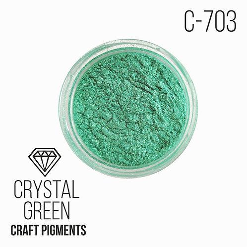 "CraftPigments""Crystal Green"", Кристаллический зеленый 25мл"