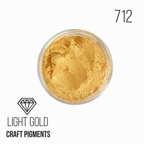 """CraftPigments """"Light Gold"""", Светлое золото, 25мл"""