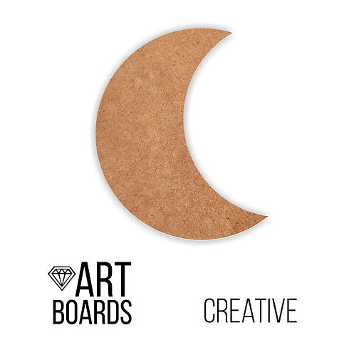 "Заготовка ART Board Creative ""Moon"", 30х25см"