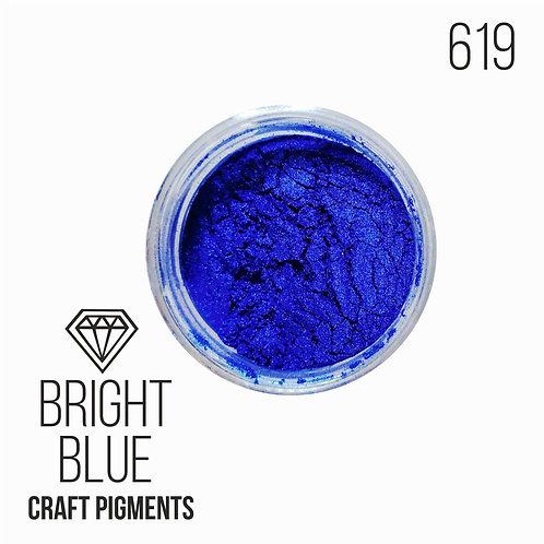 """CraftPigments """"Bright Blue"""", Ярко-синий 25мл"""