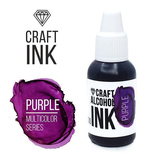 Спиротовые чернила  Craft INK, Purple (Пурпурный), 20мл