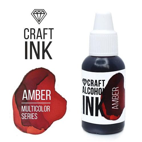 Спиртовые чернила  Craft  INK, Amber, 20мл