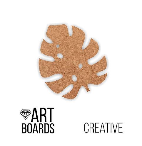"""Заготовка ART Board Creative """"Monstera M"""", 30х25см"""