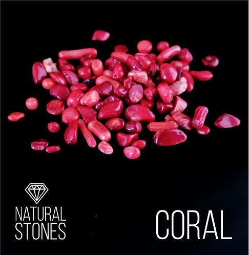 Натуральный коралл  Coral, 5-12 мм, 100 гр.