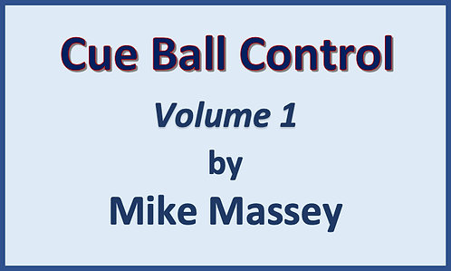 Cue Ball Control V1 by Mike Massey