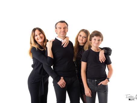 Séance Famille en Studio