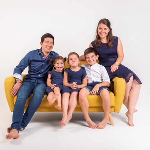 Famille en studio à Nice