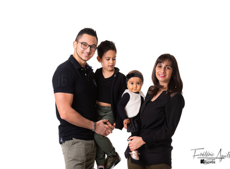 Séance Famille en Studio à Nice