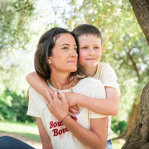 Séance mère et fils à Nice