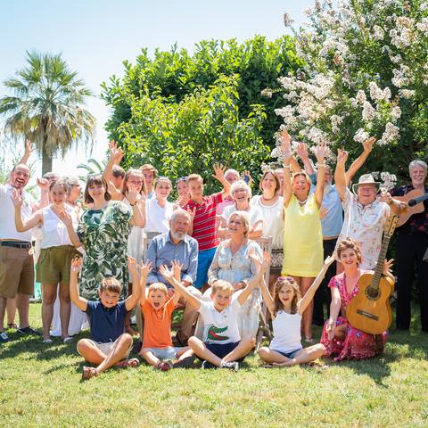 Famille à Saint Paul de Vence