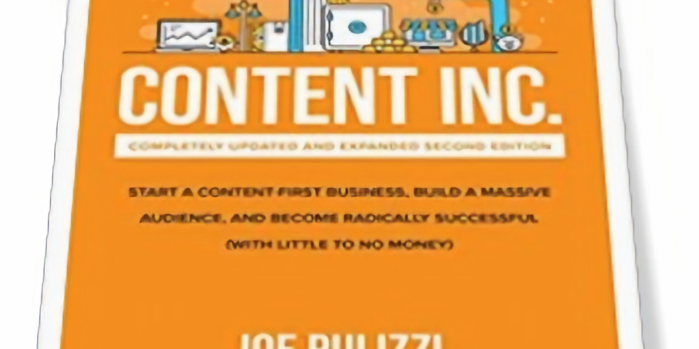 Monthly Book Club : Content Marketing